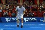 Mansour Bahrami der Tennis-Entertainer