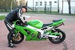 Motorrad außer Kontrolle