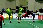 Sepak Takraw - Fußball-Volleyball