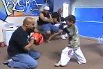 Junge Kickboxer