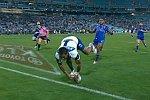 Voller Körpereinsatz beim Rugby