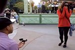 Flashmob-Heiratsantrag