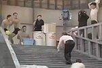Schleimige Treppe in Japanischer Game Show