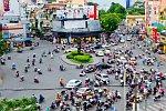Verkehr in Ho Chi Minh City, Vietnam