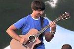 Talent an der Gitarre