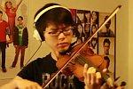 Without You auf einer Geige