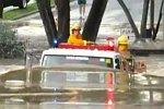 Feuerwehr kämpft sich zum Einsatz
