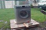 Überlebenskampf einer Waschmaschine