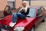 Daniela Katzenbergers erstes Auto