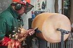 Lampenschirm aus Holz