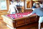 Billardtisch auf einem Kreuzfahrtschiff