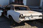 Mustang Coupe als Ersatzteillager