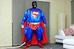 Aufgeblasener Superman
