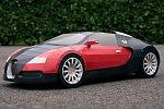 Bugatti Veyron aus Papier
