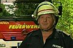 Hindernis für eine Feuerwehr