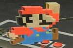 Super Mario 3D-Zeichnung