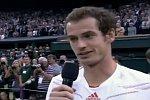 Andy Murrays Rede nach dem Wimbledon-Finale 2012