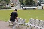 Unfall beim Skateboarding
