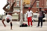 Break Dancing and Acrobatics in New York City