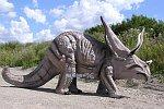 Dinosaurier in Lebensgröße