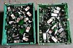 4000 leere Jägermeister-Flaschen