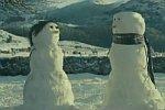 Liebe zwischen Schneemännern
