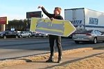 World's best Sign Spinner