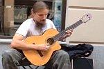 Straßenmusiker aus Polen