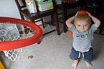2jähriger wirft Körbe wie ein Profi