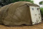 Zelt aus Beton