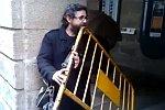 Musik mit einer Absperrung