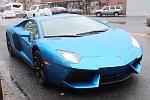 Mit einem Lamborghini abgeholt werden
