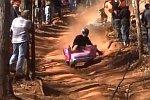 Extreme Barbie Jeep Racing