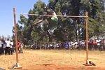 Hochsprung in Afrika