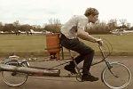 Fahrrad mit Düsenantrieb