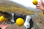 Jonglieren in Island