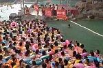 Wellenbad in China