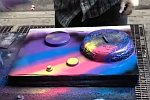 Graffitikünstler von der Straße