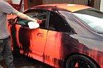 Autolack wechselt bei Hitze die Farbe