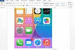 Wurde iOS 7 mit Word erstellt?