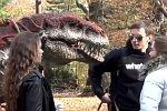 Spaziergang mit einem T-Rex