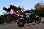 Tanz auf dem Motorrad