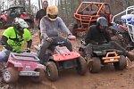 Extreme Barbie Jeep Racing 2013