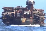 Holzlieferung per Schiff