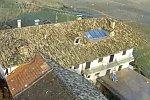 Steinschlag verfehlt knapp ein Wohnhaus