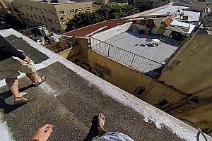 Auf den Dächern von Israel