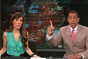 Nachrichtensprecher hat Angst vor Erdbeben