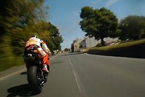 TT Motorradrennen aus der Sicht des Fahrers