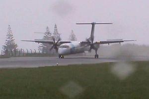 Schwere Landung