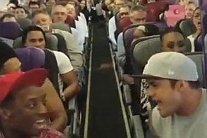 König der Löwen im Flugzeug